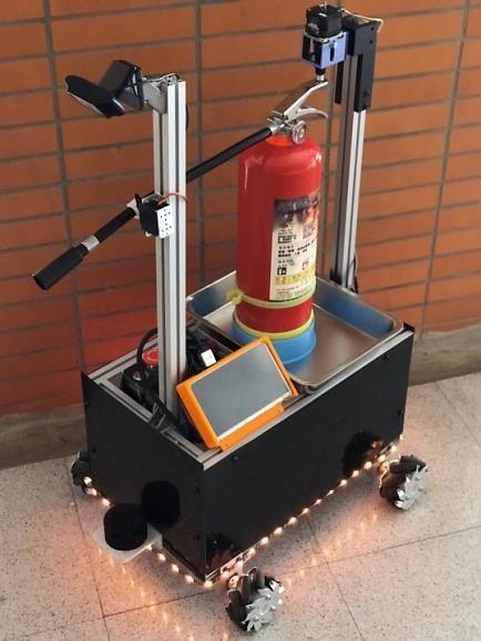 賀! 資訊工程系研發「智慧預警滅火機器人系統」獲第17屆育秀盃軟體應用銀獎-自動化工程系